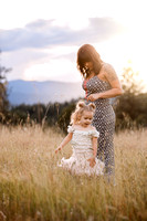 Mommy and daughter session.