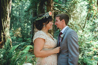 Redwoods wedding portraits